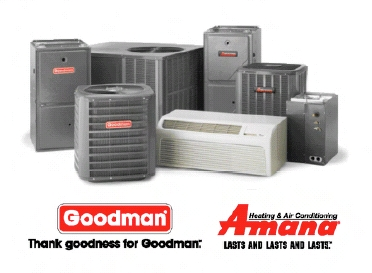 Amana and Goodman Air Conditioning Units - Arlington, TX